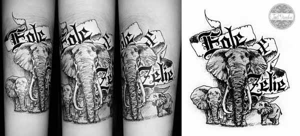 dessin tatouages - jadgarden - création site internet et dessin de
